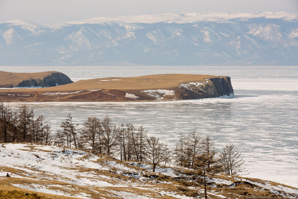 Пейзажи Ольхона