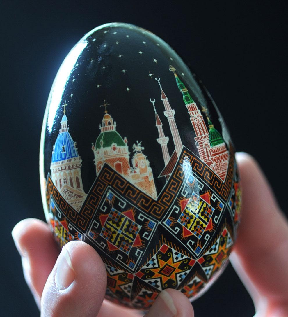 Писанка: искусство создания украинского пасхального яйца