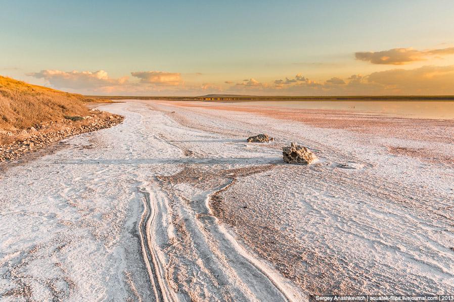 Крымские чудеса или самое соленое озеро в Крыму