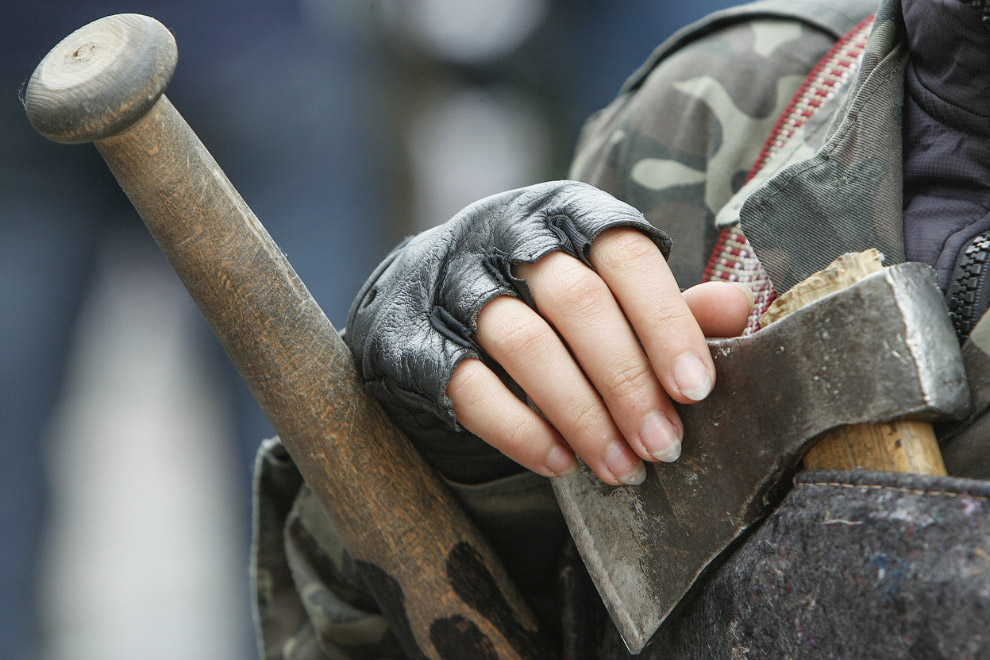 Член самообороны Майдана