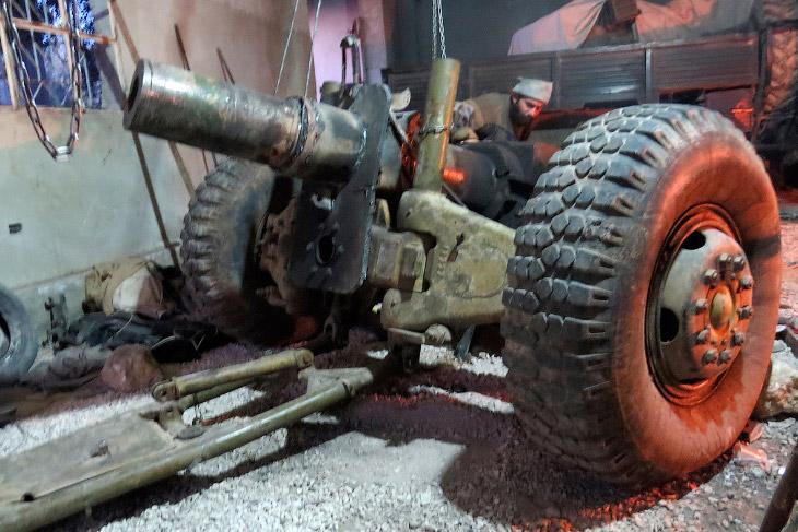 Серьезная самодельная пушка, провинция Идлиб