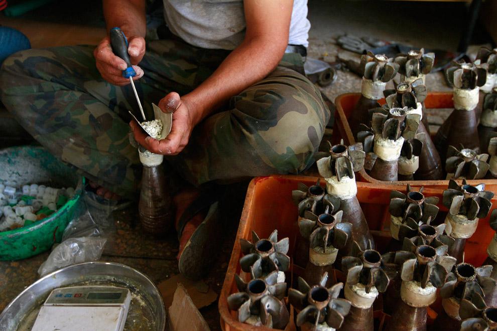 Изготовление снарядов для миномета