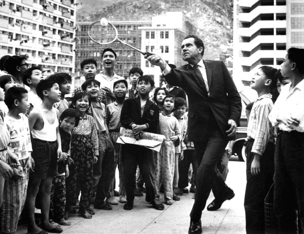 Вице-президент Ричард Никсон в Гонконге