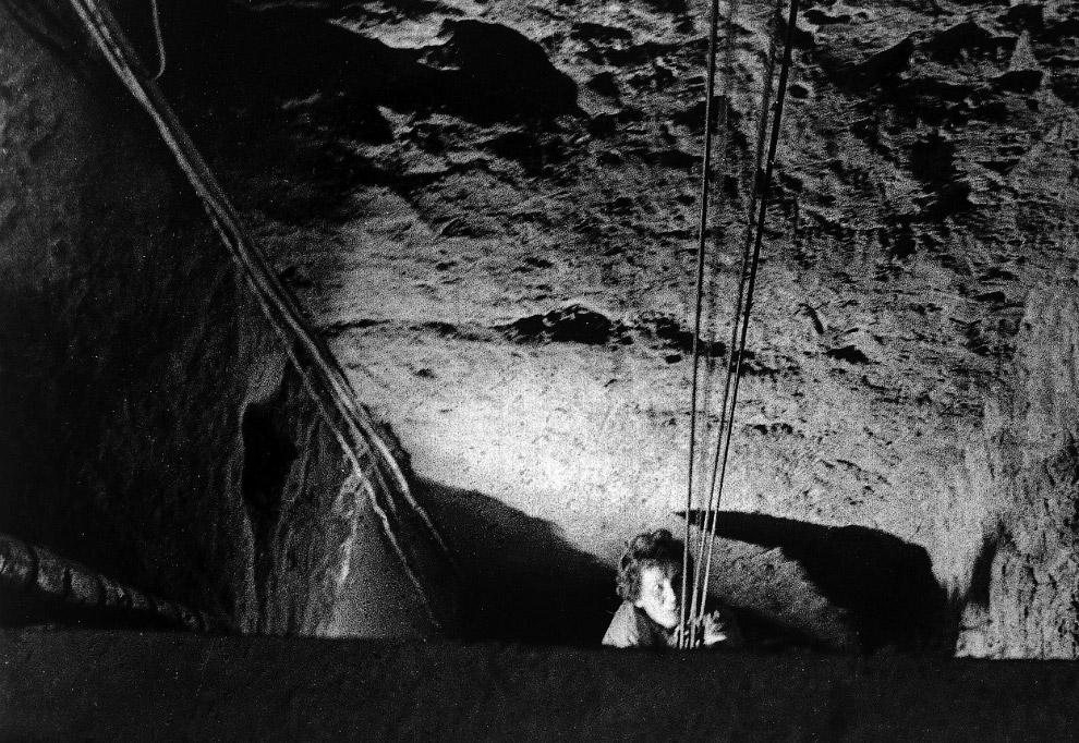 Выход из туннеля, используемого в массовом побеге 57 человек из Восточного Берлина в Западный Берлин