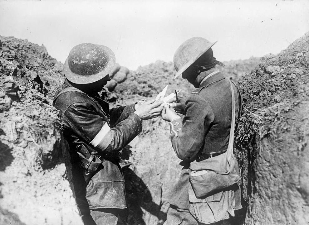 Английские войска на Западном фронте