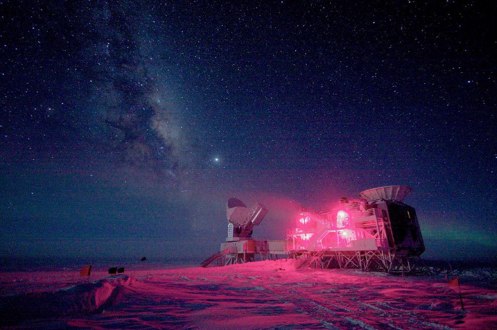 Телескоп на Амундсен-Скотт