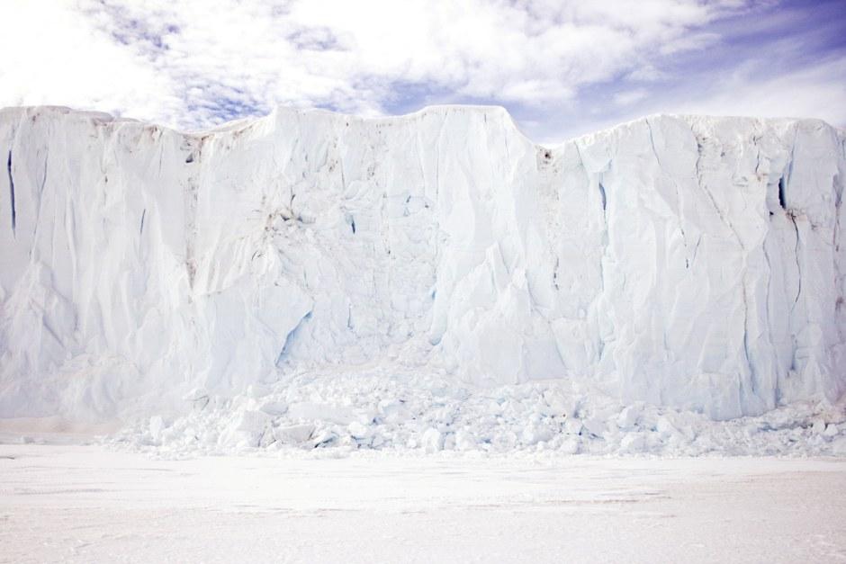 Ледник на мысе Эванс
