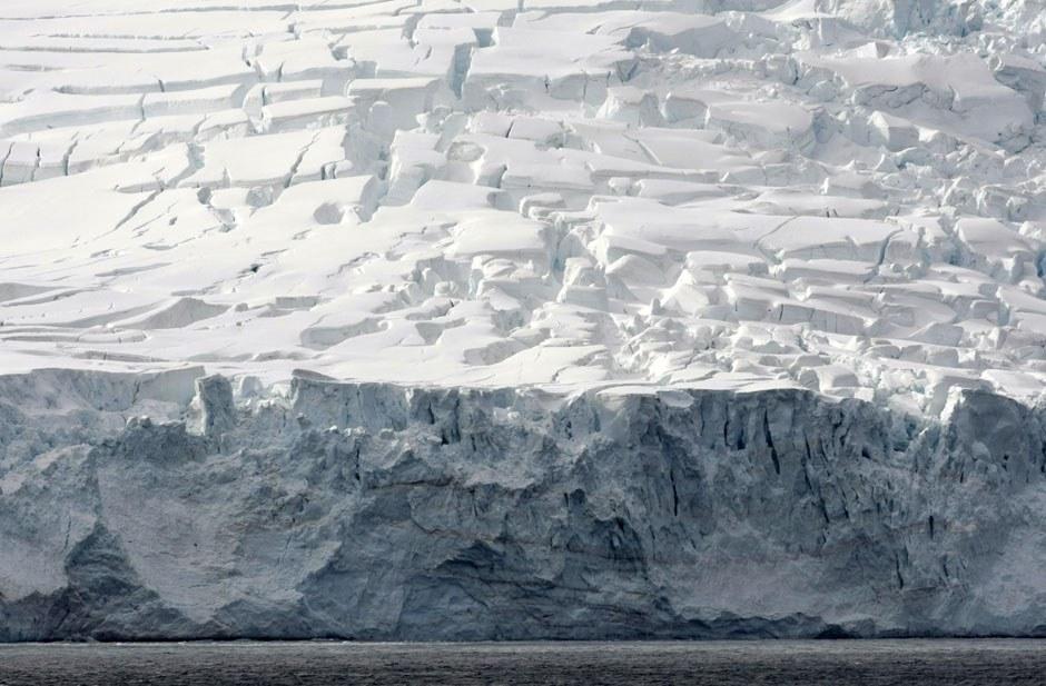 Ледники на острове архипелага Южные Шетландские острова
