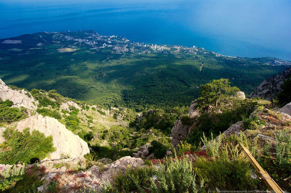 Алупка — город на южном берегу Крыма