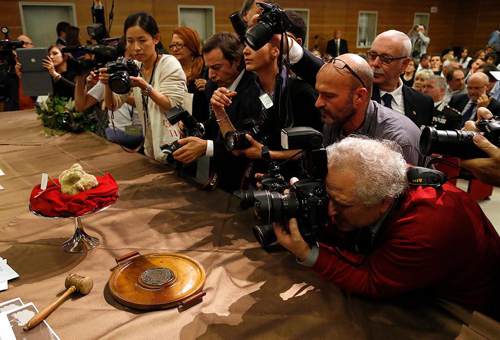 Всемирный аукцион белых трюфелей