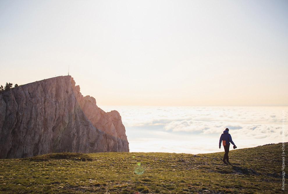 Гора Ай-Петри и море облаков