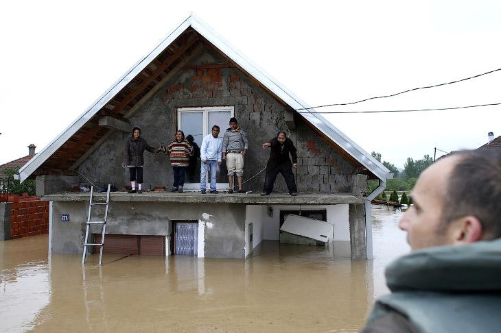 Крупнейшее наводнение на Балканах за 120 лет