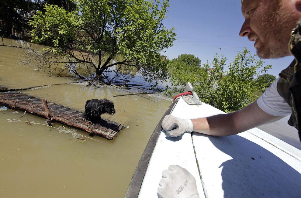 Крупнейшее наводнение на балканах за