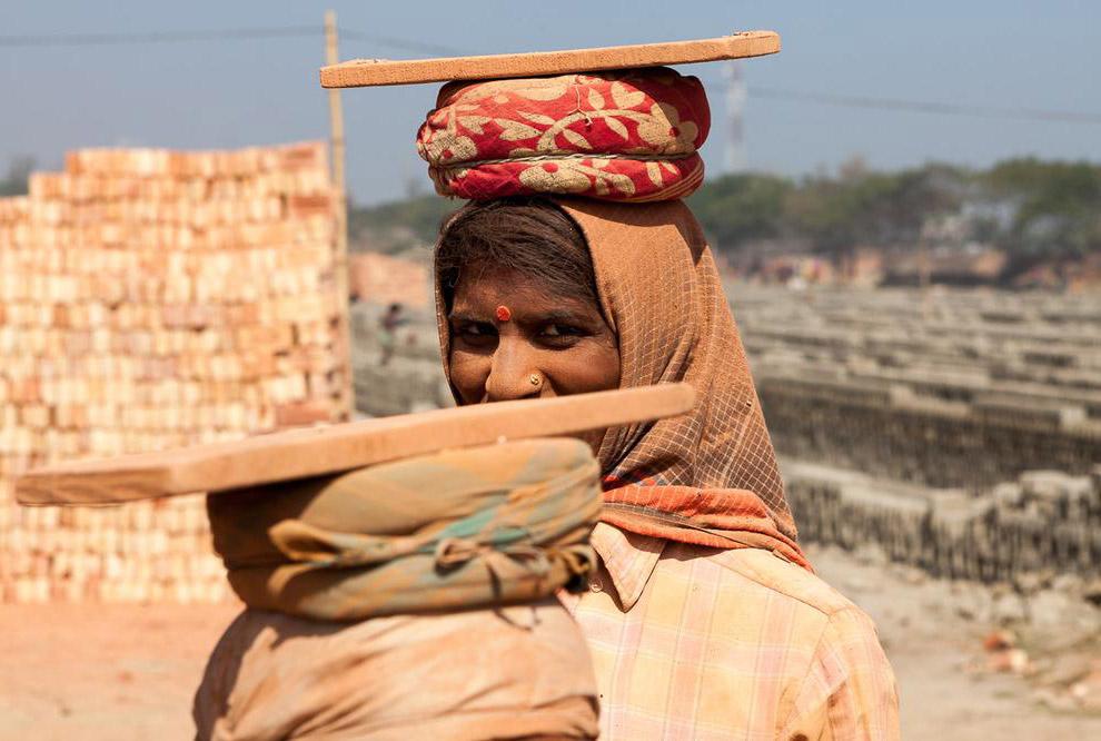 Кирпичные поля Бангладеша