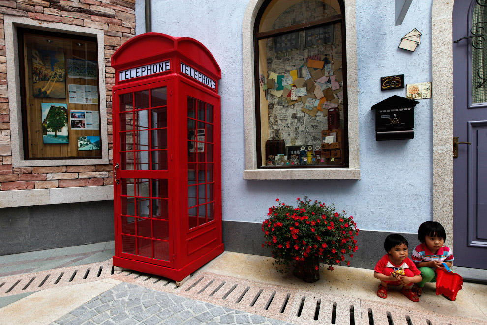 Китайская копия австрийского городка Гальштат в Хуэйчжоу