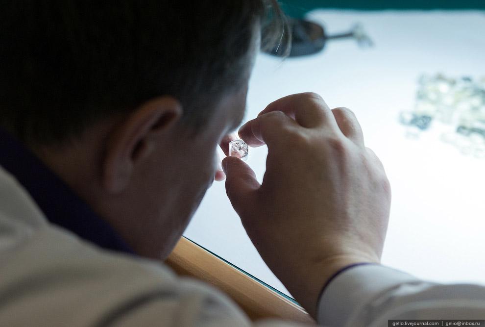 Как добывают алмазы