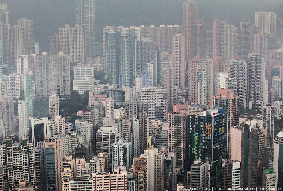 Гонконг в высоты
