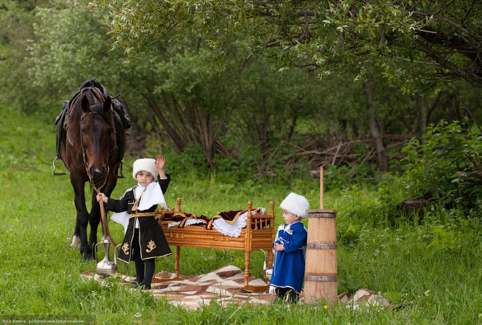Жители Карачаево-Черкесии