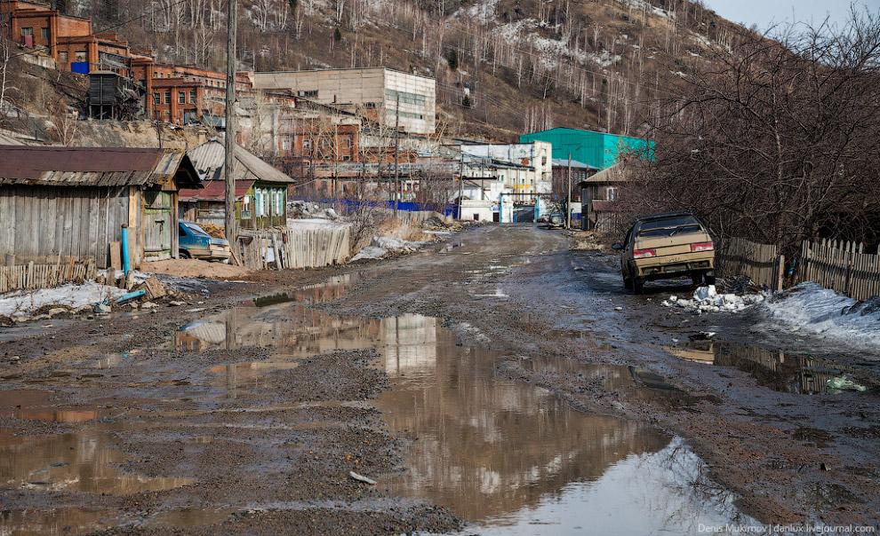 Настоящий российский поселок