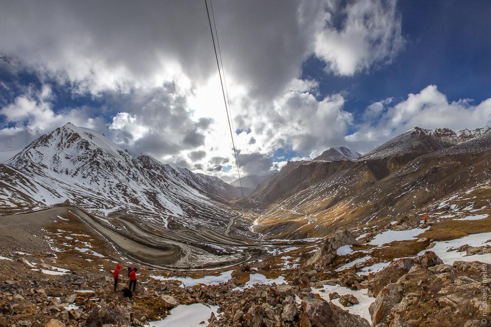 Перевал Кумтор, 3600м