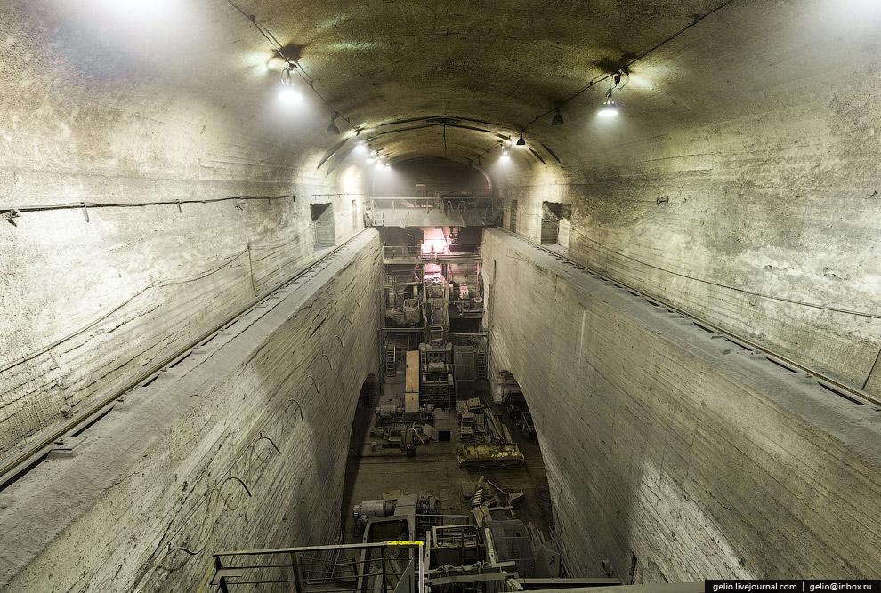 Подземный дробильный комплекс