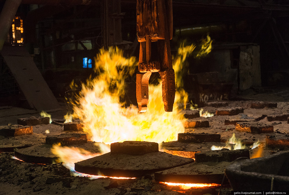 Расплавленный металл