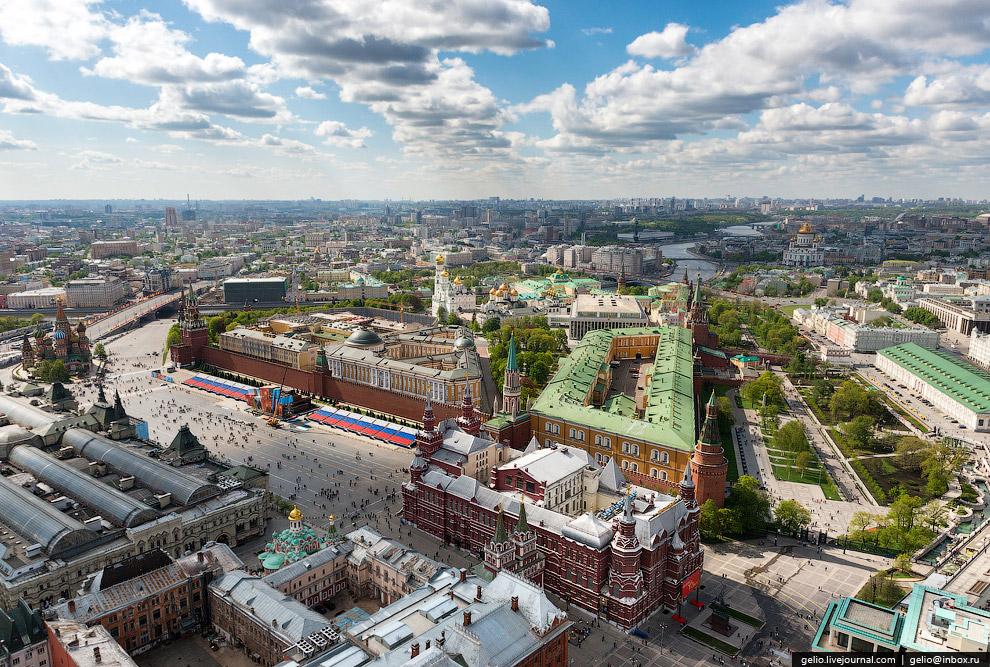 Московский Кремль и Государственный Исторический музей