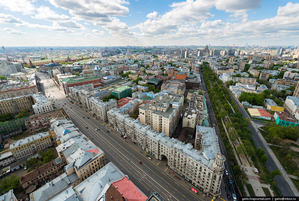 Тверская — центральная улица Москвы