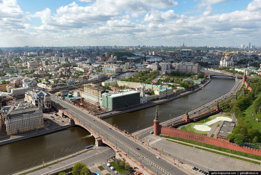 Москва-река. Замоскворецкий мост
