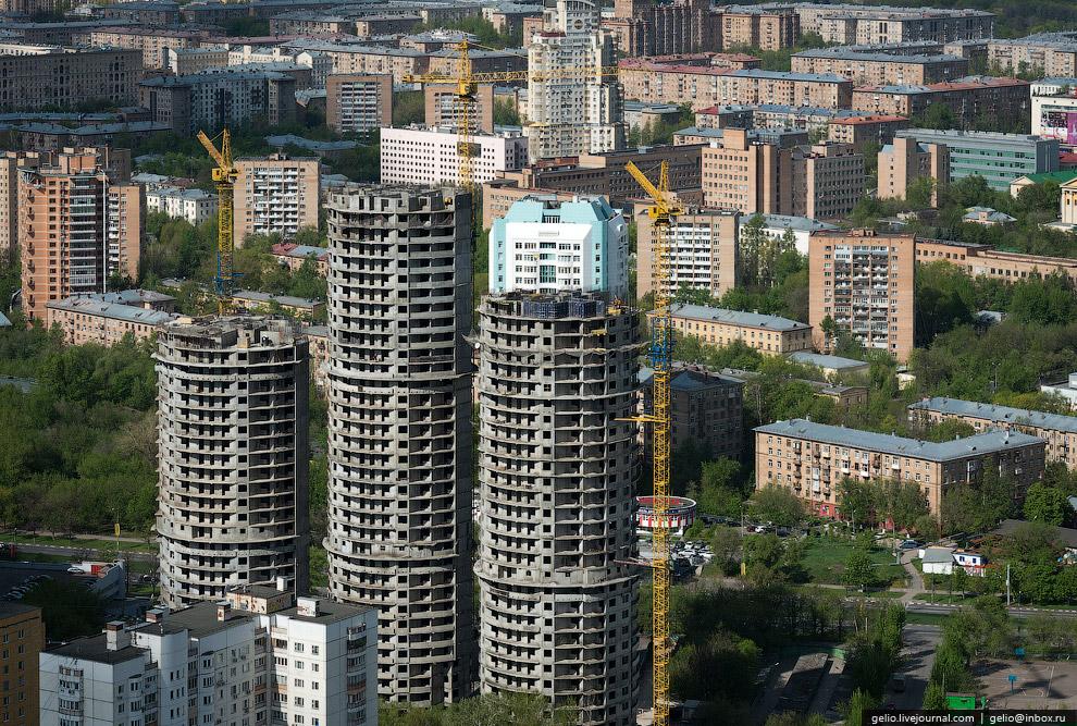 Строящийся жилой комплекс «Новые Черёмушки»