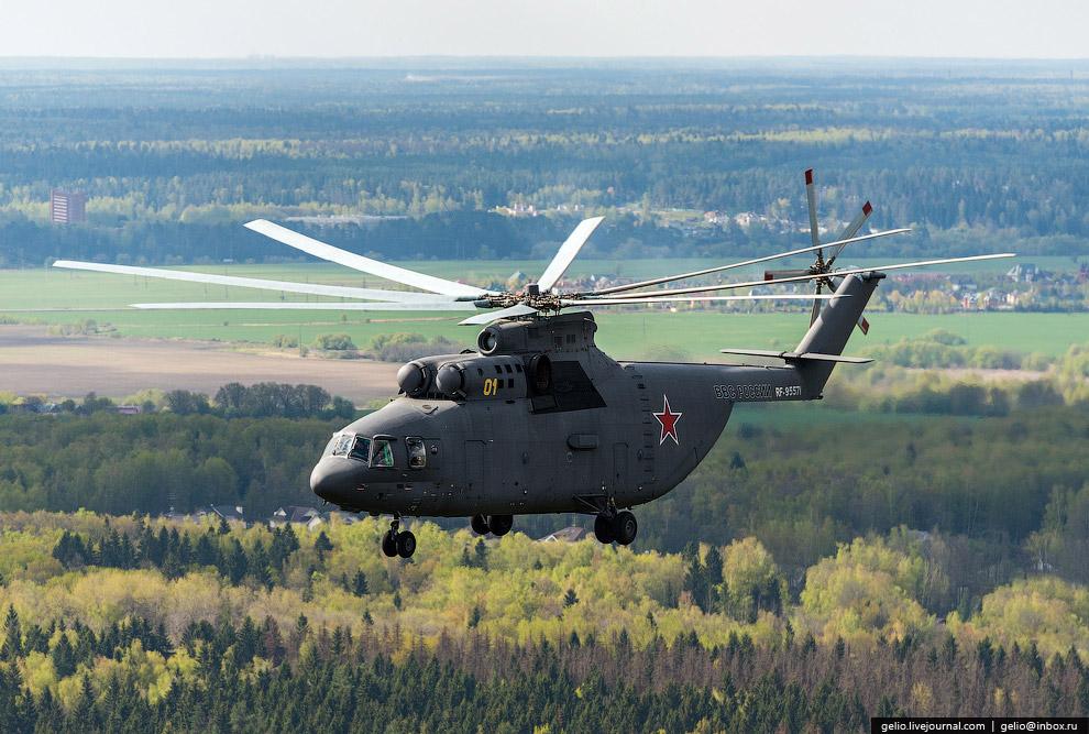 Ми-26 — крупнейшим в мире серийный транспортный вертолёт