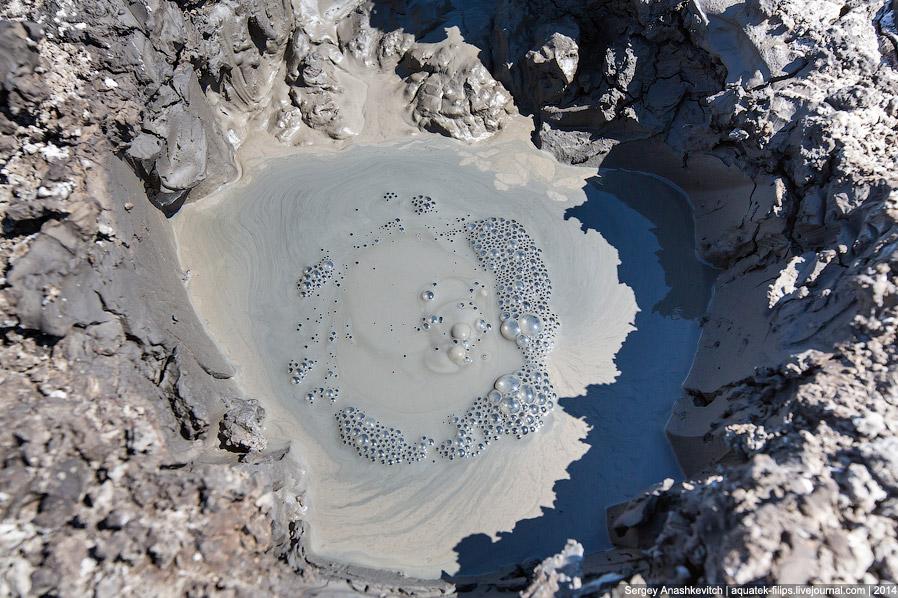 Грязевые вулканы в Крым