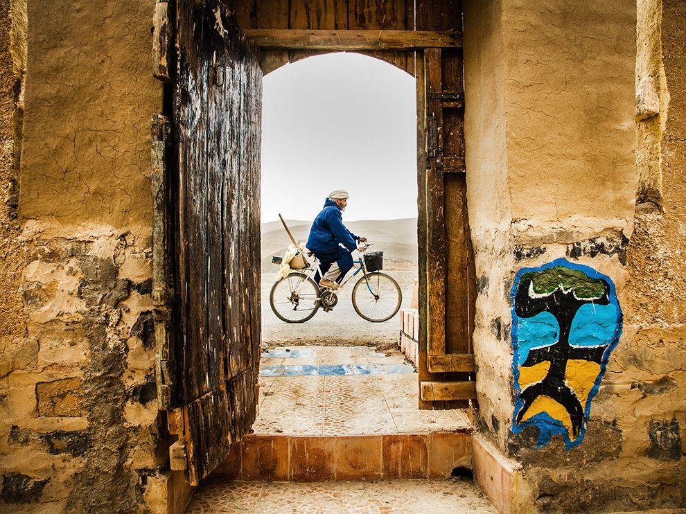 Велосипедист из Марокко