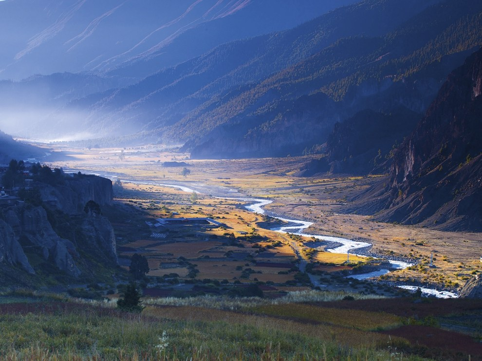 Долина Марсианди, Непал