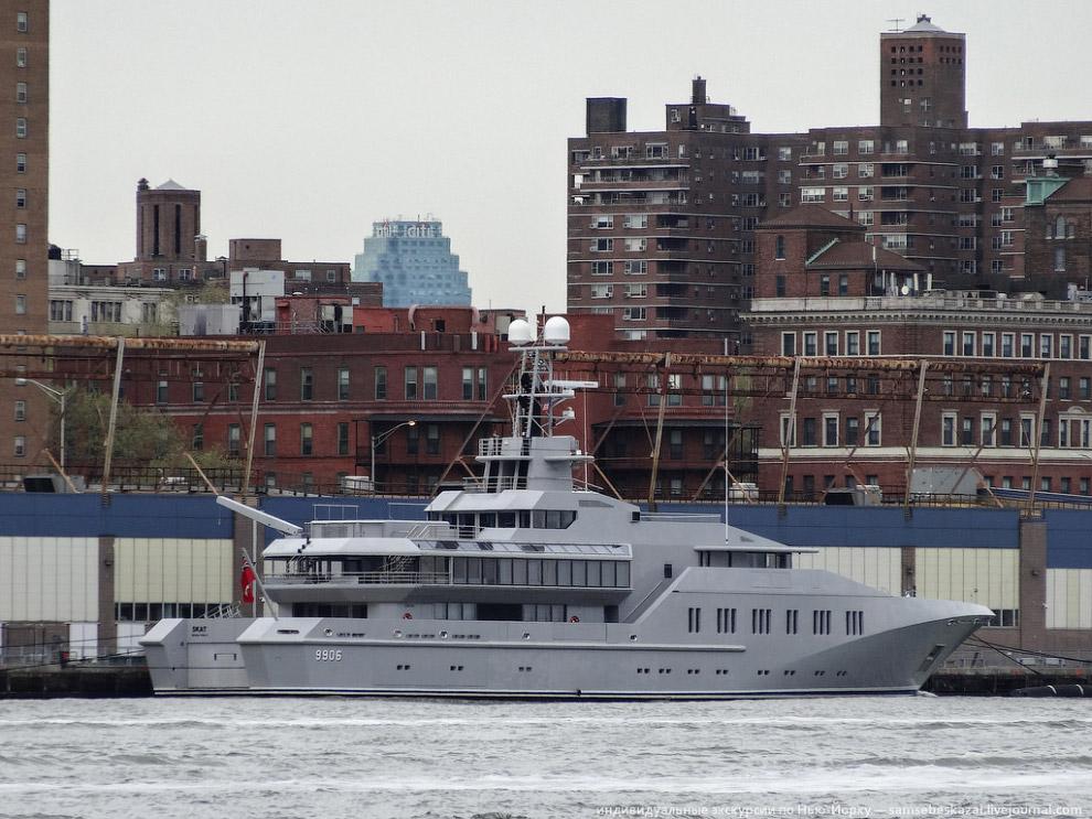 Яхта называется Skat