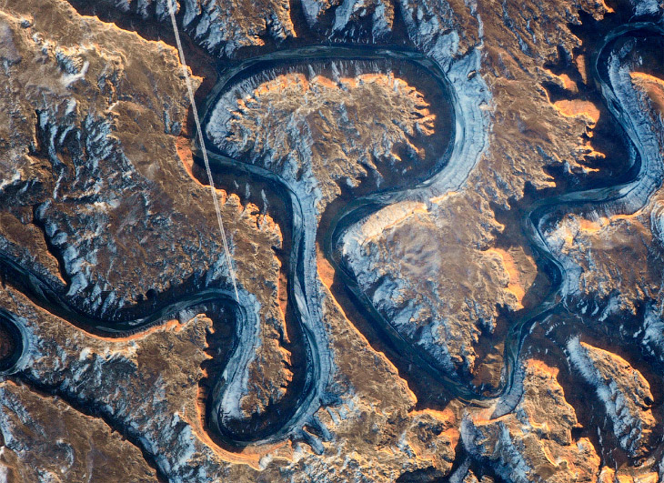Грин-Ривер — длиннейший приток реки Колорадо на востоке Юты, США