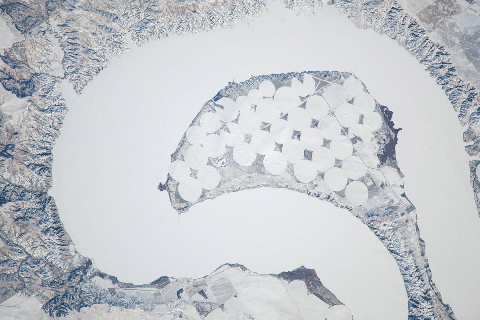 Озеро Шарп в Южной Дакоте