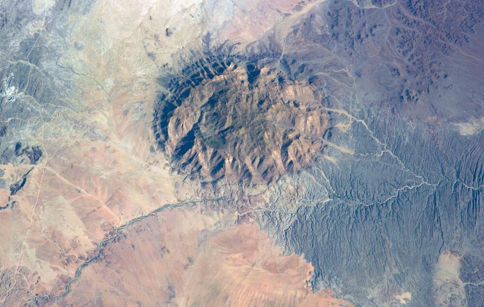 Горы в центральной Намибии
