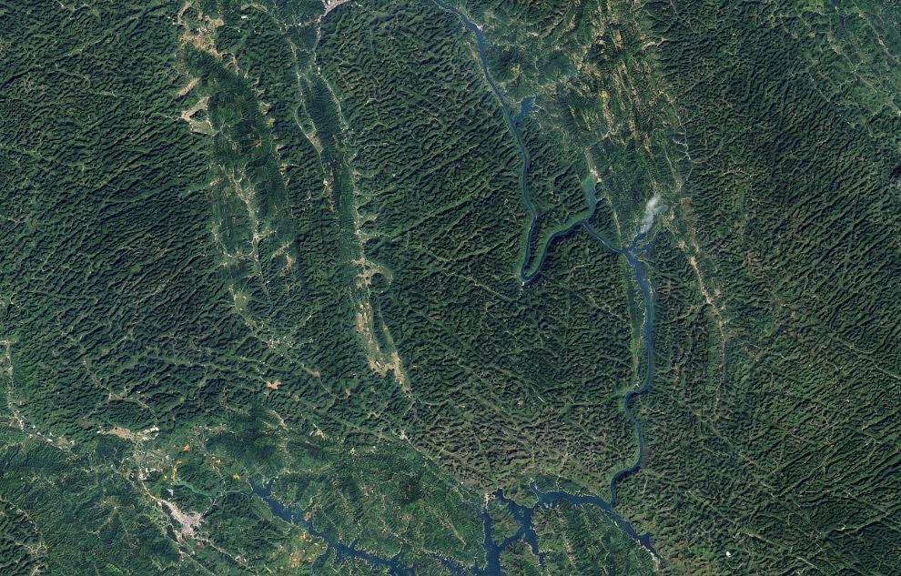Карстовые горы в Китае