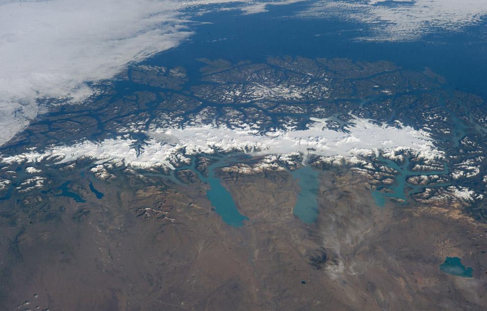Панорама ледников Южной Патагонии