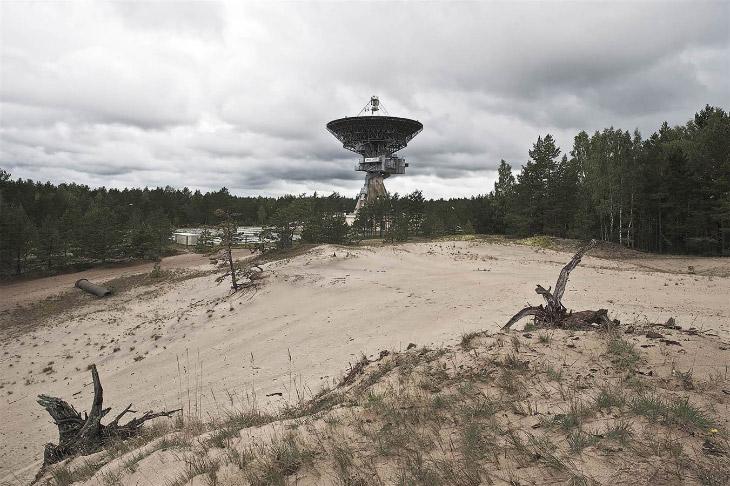 Советский радиотелескоп, Латвия, 2011 год