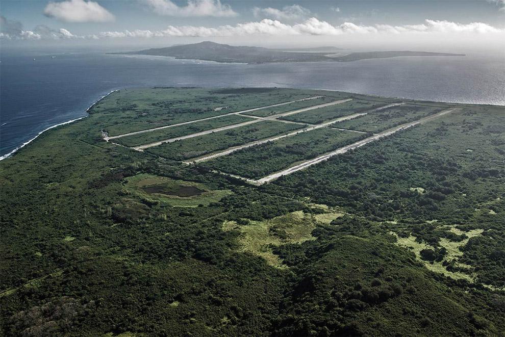Взлетно-посадочные полосы на Марианских островах в Индонезии