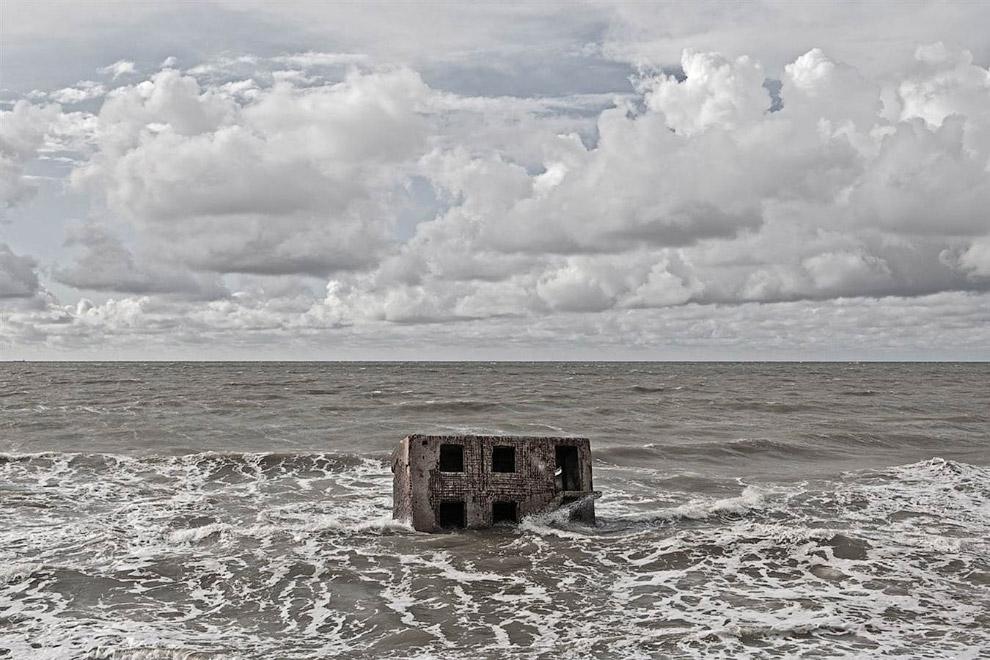Заброшенный бункер в Латвии