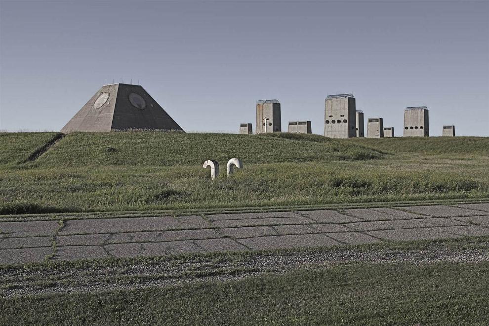 Законсервированный противоракетный комплекс в Северной Дакоте
