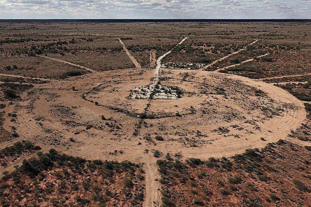 Ядерный полигон в Австралии