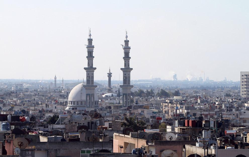 Хомс в 2011 году