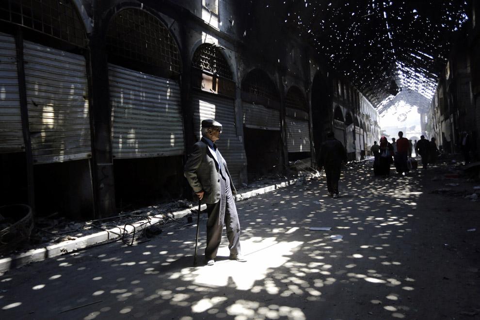 Закрытый рынок в Старом городе
