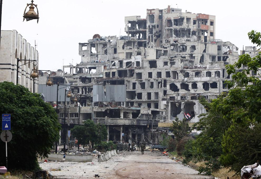 Это была прогулка по про древнему городу Хомсу в Сирии