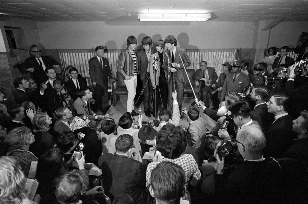 Пресс-конференция Битлс 1964 года