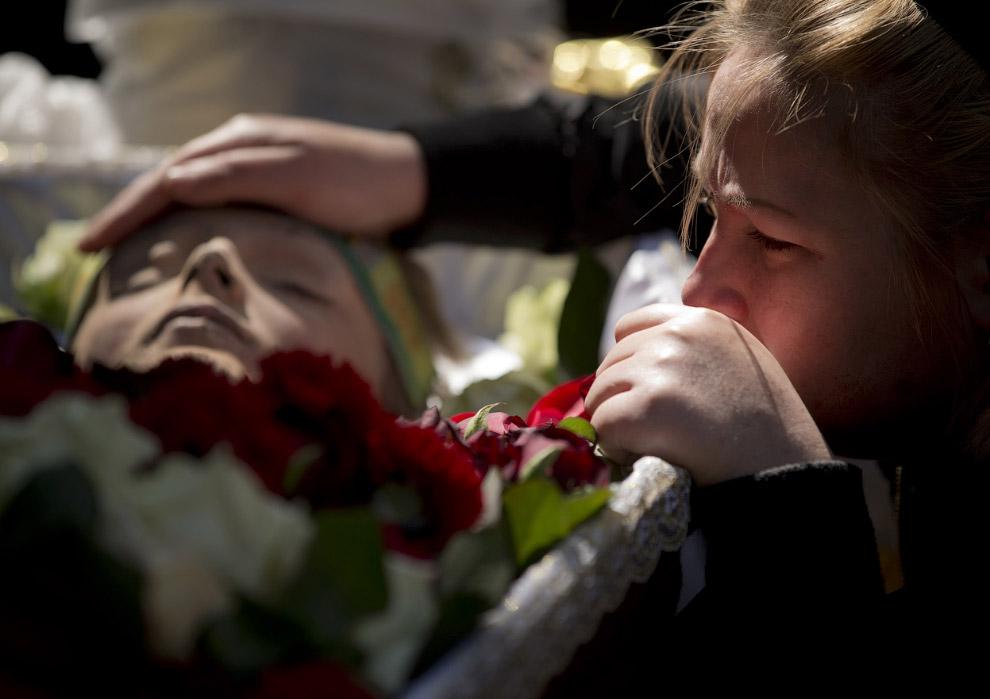 Погибший 2 мая в здании Дома профсоюзов в Одессе 17-летний парень